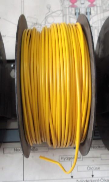 Kabel , Fahrzeugleitung gelb