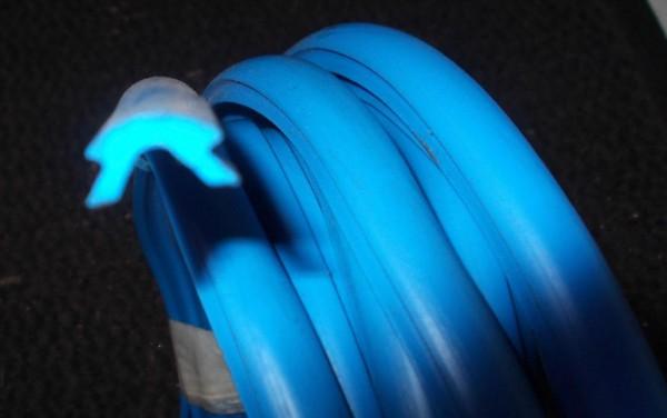 Keder Zierleisten blau Trabant