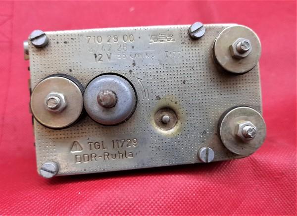 Scheibenwischermotor , Wischermotor 12V Wartburg 311 312 313