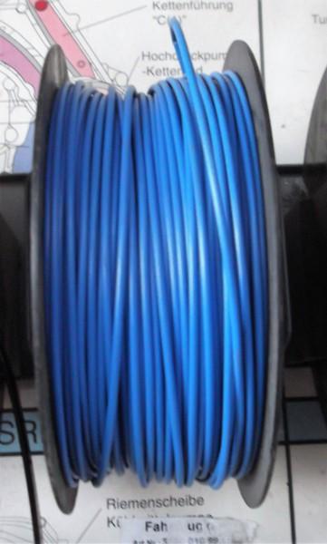 Kabel , Fahrzeugleitung blau