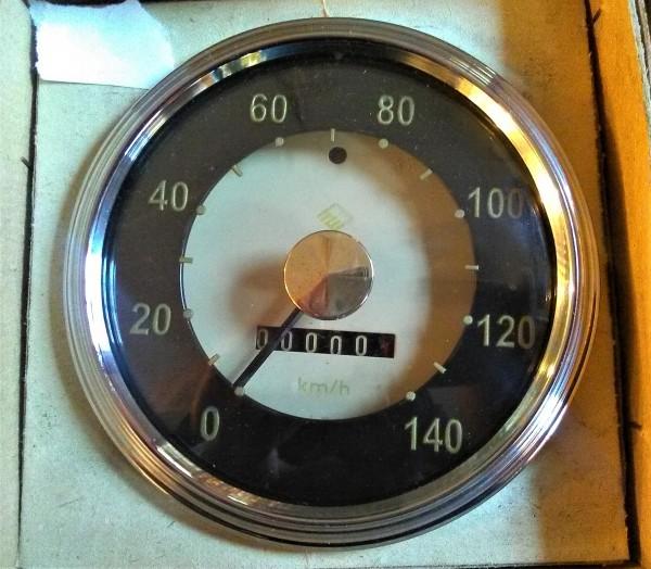 Tachometer 140 km/h Goldpunkt Wartburg 311
