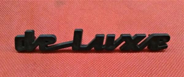 Schriftzug deluxe Trabant 601