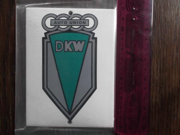 Emailleschild DKW