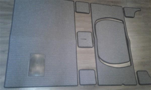 Teppichsatz Wartburg 311 312 grau gestreift