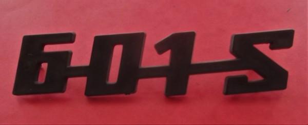 Schriftzug Trabant 601