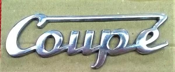Schriftzug Coupe Wartburg 311 312